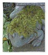 Whimsical Frog Fleece Blanket