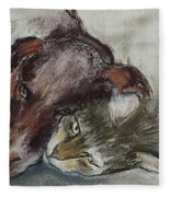 Whisker To Whisker Fleece Blanket