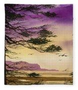 Whisper Of Dawn Fleece Blanket