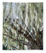 Whispering Oaks Fleece Blanket
