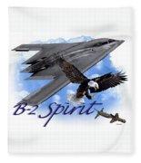 Whispering Spirit Fleece Blanket