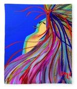 Whispering Wind Fleece Blanket