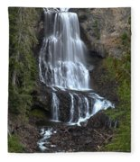Whistler Waterfalls - Alexander Falls Fleece Blanket