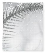 White Bird Fleece Blanket