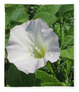 White Candour Fleece Blanket
