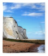 White Cliffs Of Dover Fleece Blanket