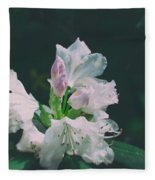 White Cloud Azalea  By Zina Zinchik Fleece Blanket