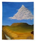 White Cloud Fleece Blanket