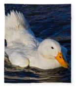 White Duck 2 Fleece Blanket