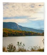 White Mountain Range Fleece Blanket