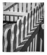 White Picket Fence Portsmouth Fleece Blanket