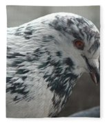 White Pigeon Fleece Blanket