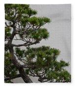 White Pine Bonsai Fleece Blanket