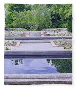 White River Gardens Fleece Blanket