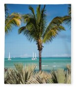 White Sails. Mauritius Fleece Blanket