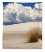 White Sands Cross Fleece Blanket
