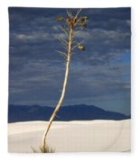 White Sands National Monument 2 White Sands New Mexico Fleece Blanket