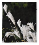 White Seed Fleece Blanket