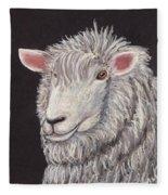 White Sheep Fleece Blanket