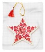 White Star Fleece Blanket