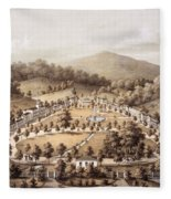 White Sulphur Springs, Montgomery County, Va Fleece Blanket
