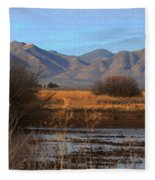 White Water Draw Preserve Fleece Blanket