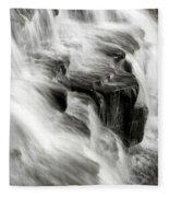 White Water Falls Fleece Blanket