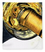 White Wine Art - Lap Of Luxury - By Sharon Cummings Fleece Blanket