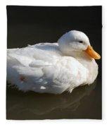 White Wings Fleece Blanket