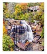 Whitewater Falls Fleece Blanket