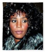 Whitney Houston 1989 Fleece Blanket
