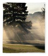 Whittle Springs Golf Course Fleece Blanket