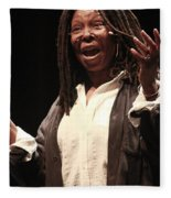 Whoopi Goldberg Fleece Blanket