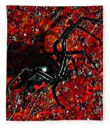 Wicked Widow - Rouge Fleece Blanket