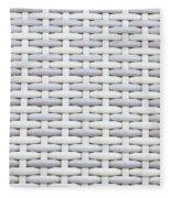 Wicker Fleece Blanket