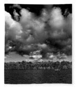 Wid Open Lake Fleece Blanket