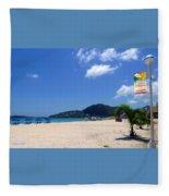 Wifi In Paradise - Hotspot Redefined Fleece Blanket
