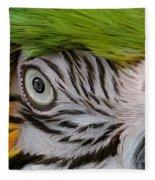 Wild Eyes - Parrot Fleece Blanket