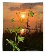 Wild Flower Ia Mlo Fleece Blanket