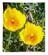 Wild Flowers 2 Fleece Blanket