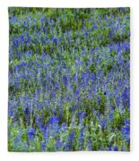 Wild Flowers Blanket Fleece Blanket