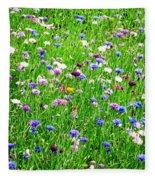 Wild Flowers Fleece Blanket