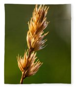 Wild Grass 2 Fleece Blanket