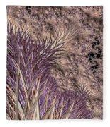Wild Grasses Blowing In The Breeze  Fleece Blanket