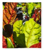 Wild Lettuce Fleece Blanket