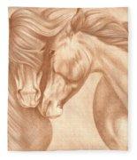Wild Love Fleece Blanket