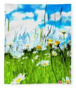 Wild Ones - Daisy Meadow Fleece Blanket