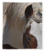 Wild Pinto Fleece Blanket