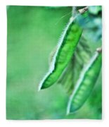 Wild Pods Fleece Blanket