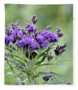 Wild Purple Fleece Blanket